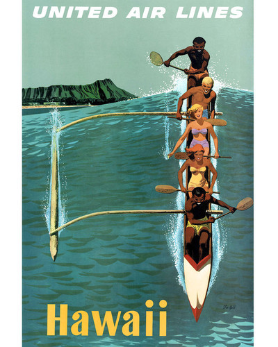 This is an image of Prints & Posters of Hawaii 203204