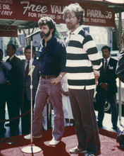 This is an image of Prints & Posters of Steven Spielberg and George Lucas 203576