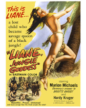This is an image of Prints & Posters of Liane Jungle Goddess 203254