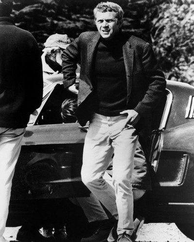 This is an image of Prints & Posters of Steve McQueen 106362