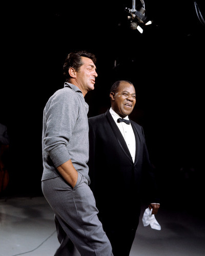 This is an image of Prints & Posters of Louis Armstrong and Dean Martin 203982
