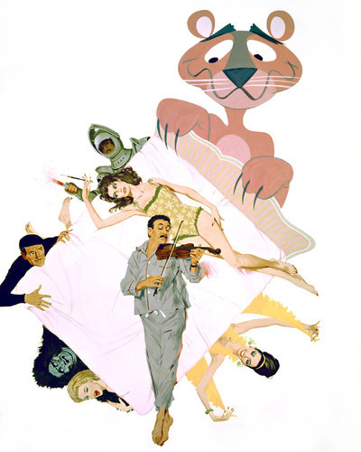 This is an image of Prints & Posters of Pink Panther 203988