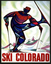 This is an image of Prints & Posters of Ski Colorado 204014