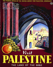 This is an image of Prints & Posters of Visit Palestine Land of the Bible 204017