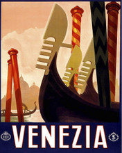 This is an image of Prints & Posters of Venezia Venice Italy 204019