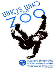 This is an image of Prints & Posters of Whos Who in the Zoo 204021