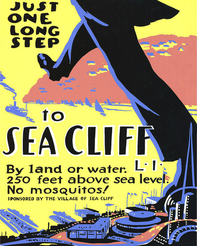 This is an image of Prints & Posters of Sea Cliff 204022