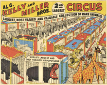 This is an image of Prints & Posters of Kelly Miller Circus 204026