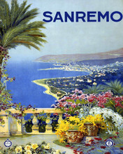 This is an image of Prints & Posters of Sanremo Italy 204031