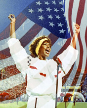 This is an image of Prints & Posters of Whitney Houston 204035