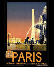 This is an image of Prints & Posters of Paris Eiffel Tower 204045