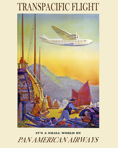This is an image of Prints & Posters of Pan American Airways 204061