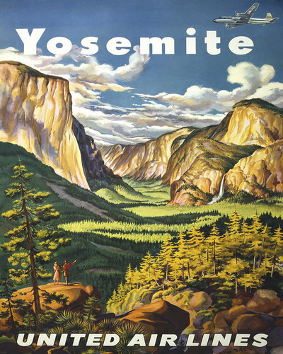 This is an image of Prints & Posters of Yosemite 204062
