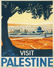 This is an image of Prints & Posters of Visit Palestine 204065