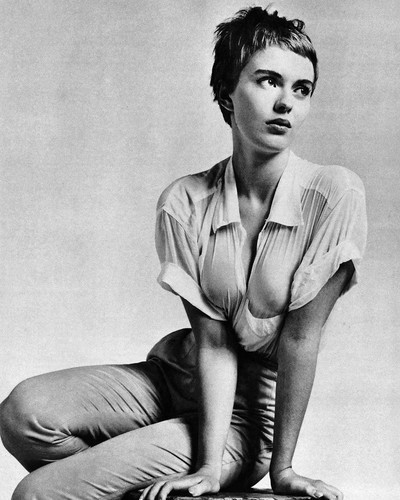 This is an image of Prints & Posters of Jean Seberg 106798
