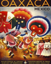 This is an image of Prints & Posters of Oaxaca Mexico 204071
