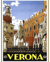 This is an image of Prints & Posters of Verona Italy 204073