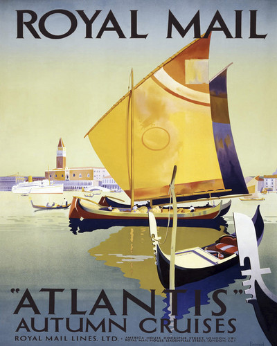 This is an image of Prints & Posters of Royal Mail Steam Packet Company 204077