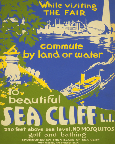This is an image of Prints & Posters of Sea Cliff Long Island New York 204080
