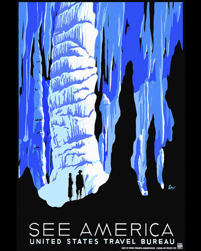 This is an image of Prints & Posters of See America Alaska 204091