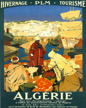 This is an image of Prints & Posters of Algerie Hivernage Plm 204097