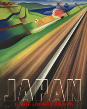 This is an image of Prints & Posters of Japan Japanese Government Railways 204101