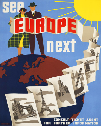 This is an image of Prints & Posters of See Europe 204109