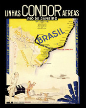 This is an image of Prints & Posters of Rio De Janeiro Brazil 204136
