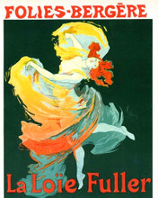 This is an image of Prints & Posters of Folies-Bergere La Loie Fuller 204137