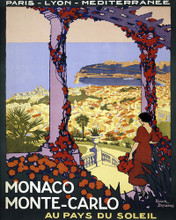 This is an image of Prints & Posters of Monaco Monte-Carlo 204126