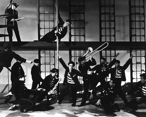 This is an image of Prints & Posters of Jailhouse Rock 106812