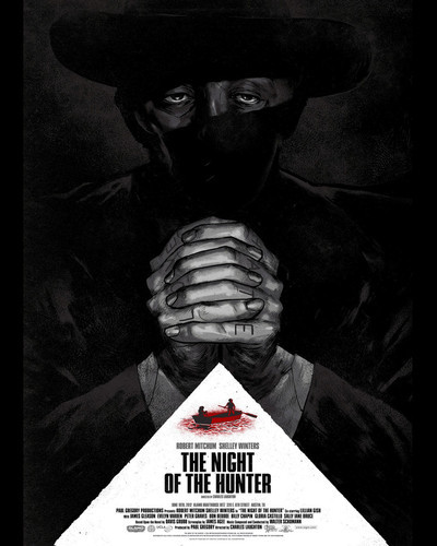 This is an image of Prints & Posters of The Night of the Hunter 204127