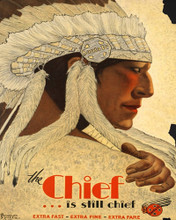 This is an image of Prints & Posters of Chief...is Still Chief 204164