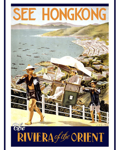 This is an image of Prints & Posters of See Hong Kong Riviera of the Orient 204171