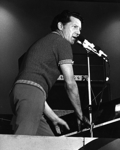 This is an image of Prints & Posters of Jerry Lee Lewis 106981