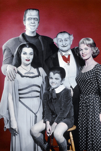 This is an image of Prints & Posters of The Munsters 204228
