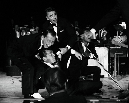 This is an image of Prints & Posters of Frank Sinatra and Dean Martin 106939