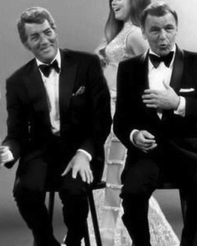 This is an image of Prints & Posters of Frank Sinatra and Dean Martin 106950