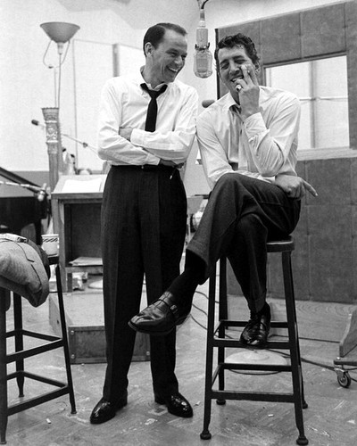 This is an image of Prints & Posters of Frank Sinatra and Dean Martin 107030