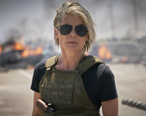 This is an image of Prints & Posters of Linda Hamilton 204280