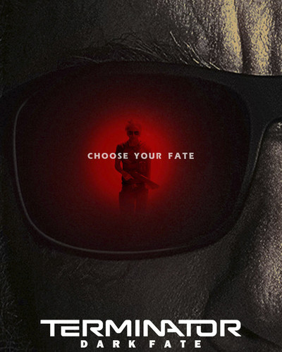 This is an image of Prints & Posters of Terminator: Dark Fate 204297