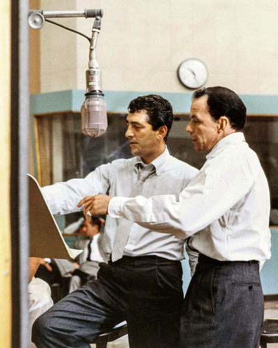 This is an image of Prints & Posters of Frank Sinatra and Dean Martin 204299
