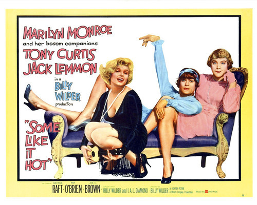 This is an image of Prints & Posters of Some Like It Hot 204304