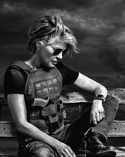 This is an image of Prints & Posters of Linda Hamilton 107045