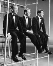 This is an image of Prints & Posters of Frank Sinatra Dean Martin Bing Crosby 107046