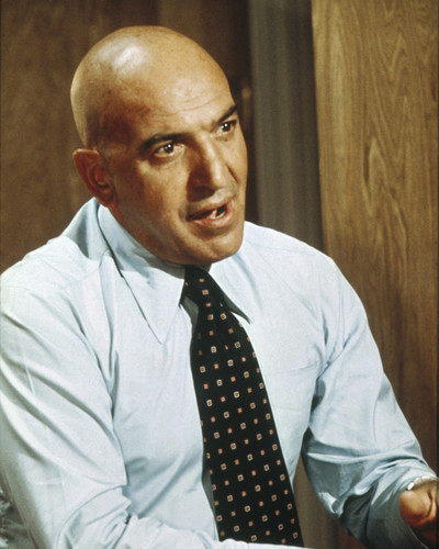 This is an image of Prints & Posters of Telly Savalas 204257
