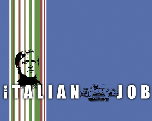 This is an image of Prints & Posters of The Italian Job 204322
