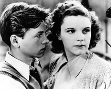 This is an image of Prints & Posters of Judy Garland and Mickey Rooney 107112