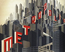 This is an image of Prints & Posters of Metropolis 204462