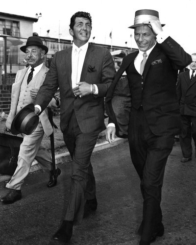 This is an image of Prints & Posters of Frank Sinatra and Dean Martin 107240